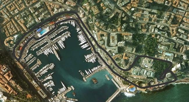 Circuito Monaco : Circuito de monaco montecarlo fórmula f
