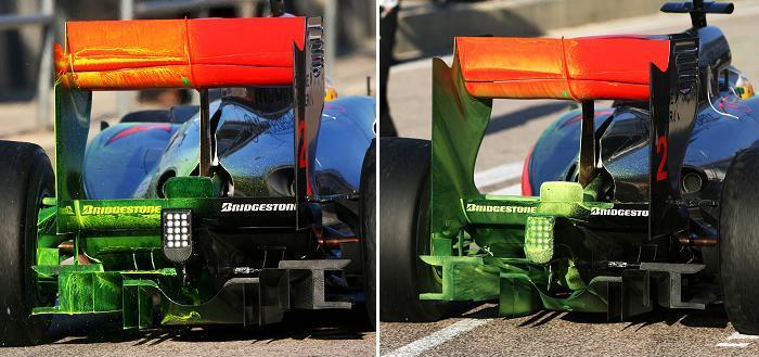Flow viz en el McLaren