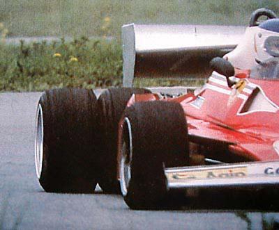 Reutemann en Fiorano en 1977 con el Ferrari F312T2 prototipo