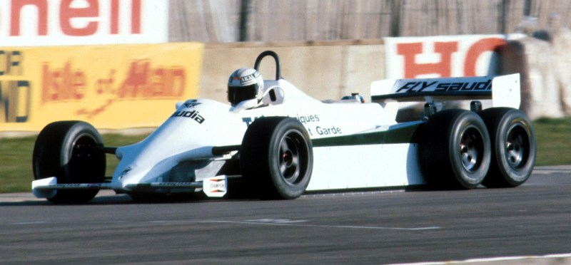 Williams de 6 ruedas de 1982