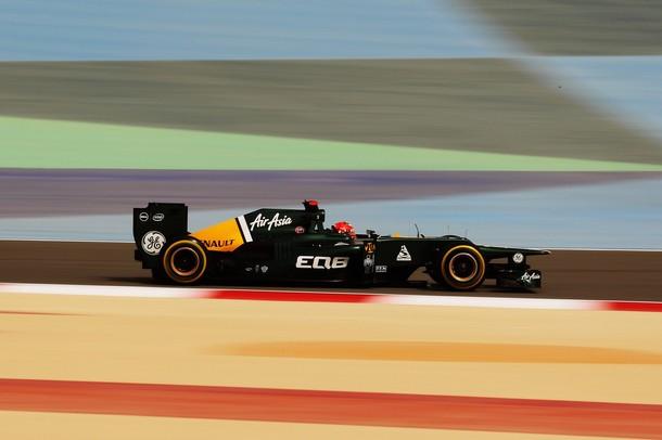 Heikki Kovalainen en la calificación del GP de Baréin 2012