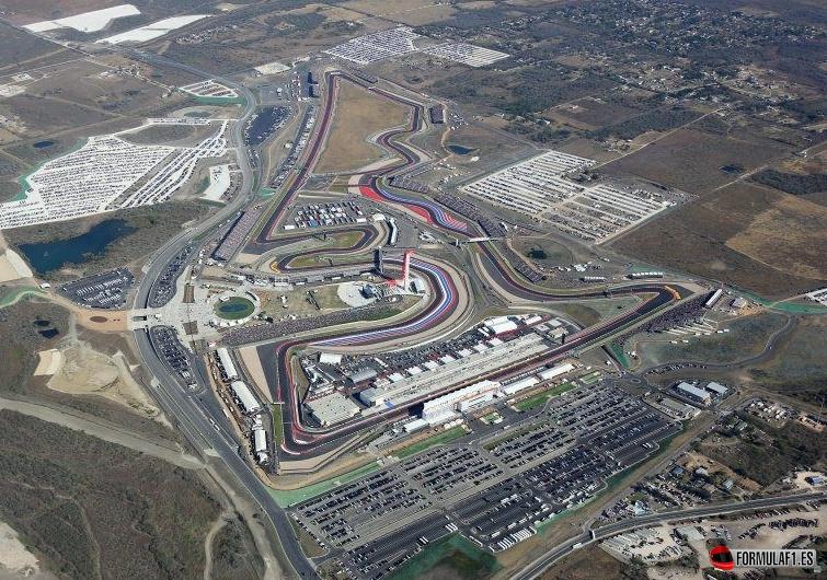 Circuito de las Americas, en EE.UU.