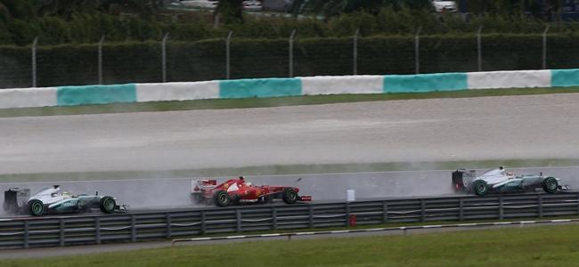 F1: Todo lo que hacen los pilotos en la vuelta de formación