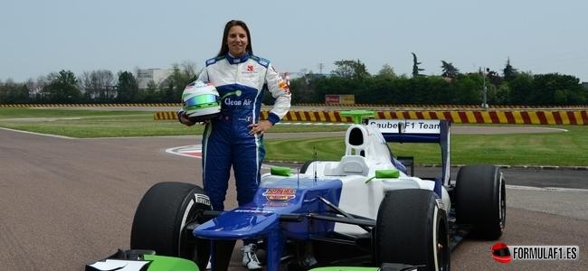 Simona De Silvestro, Sauber, Test Fiorano 2014