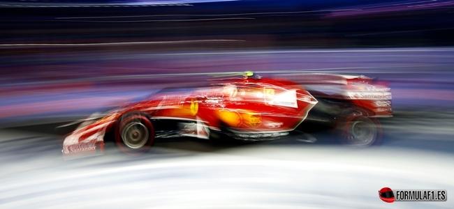 Raikkonen, Ferrari, GP Singapur 2014