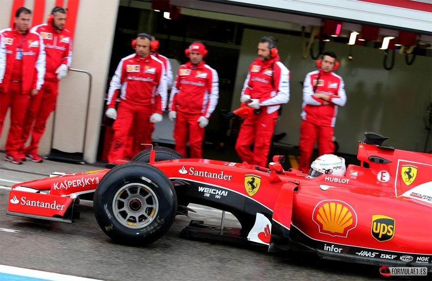 Vettel Paul Ricard 2