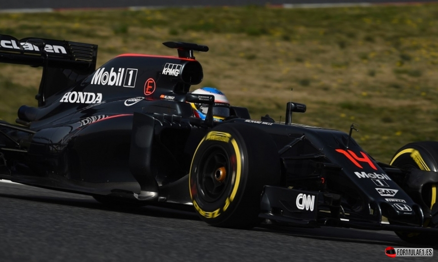 Alonso martes Montmelo