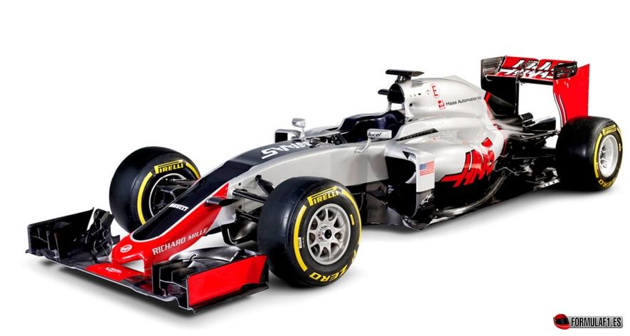 Haas F1 1