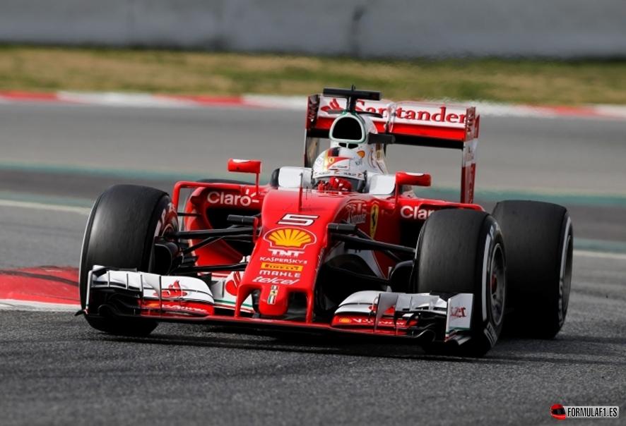 Vettel Montmeló 1