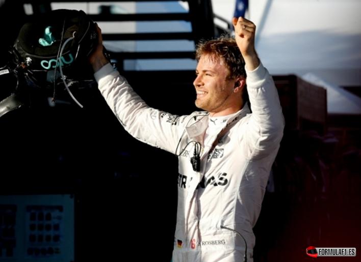 Rosberg consigue la victoria del GP de Australia 2016