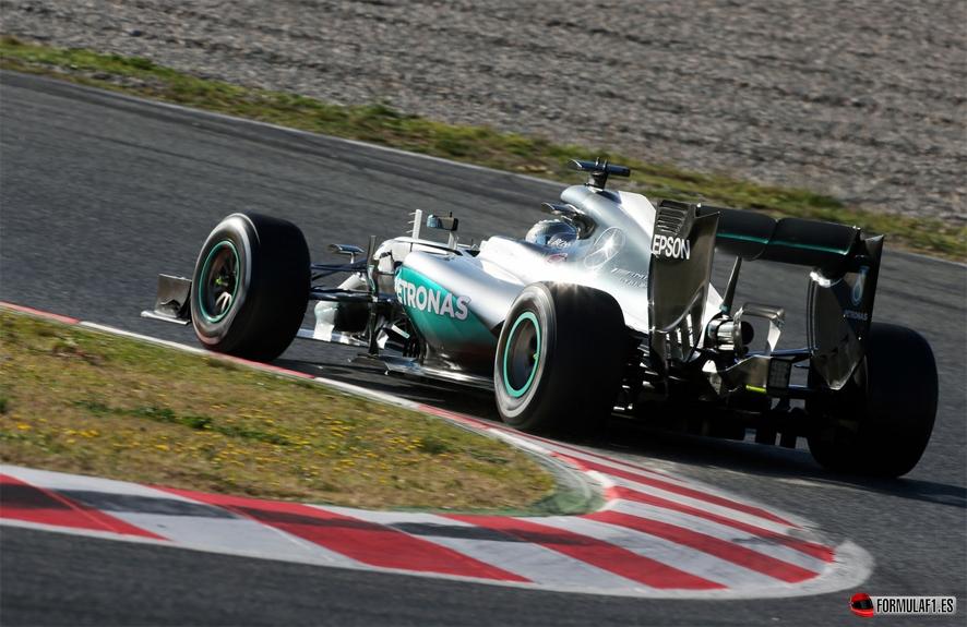 Rosberg montmelo martes