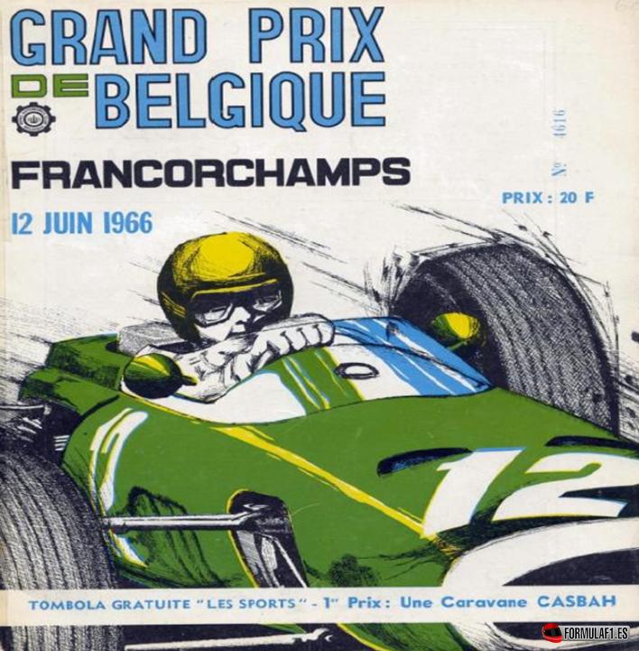 Hace 50 años... Grand Prix de Bélgica 1966