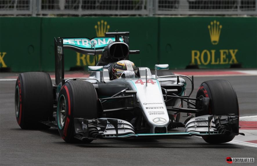 GP de Europa 2016 - Libres 3: Lewis Hamilton supera a Nico Rosberg en el último suspiro