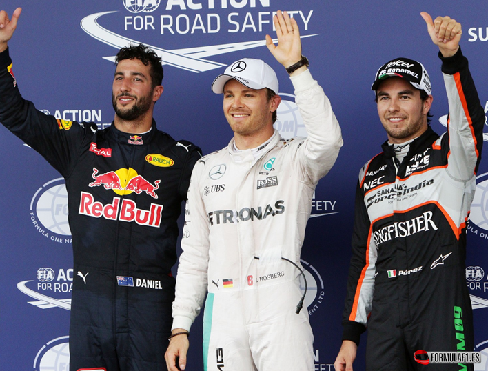 GP de Europa 2016 - Calificación: primera Pole de Bakú para Nico Rosberg
