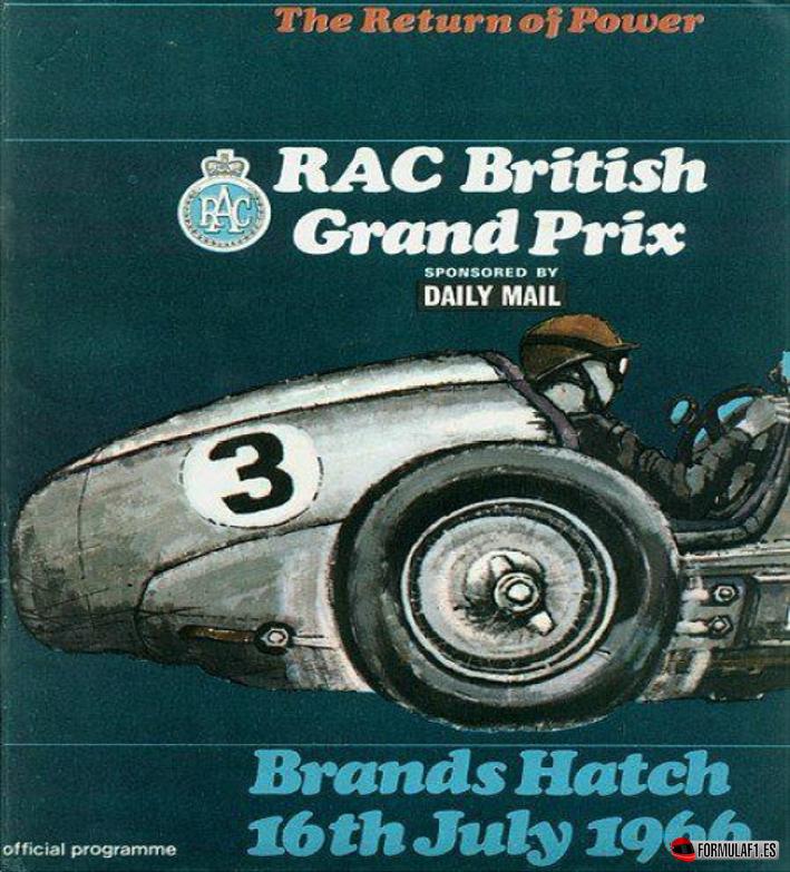 Hace 50 años... Grand Prix de Gran Bretaña 1966