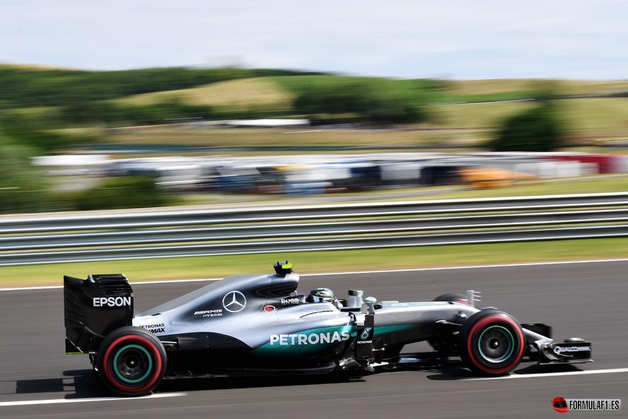 GP de Hungría 2016 – Libres 3: Nico Rosberg bate a Max Verstappen por 2 milésimas