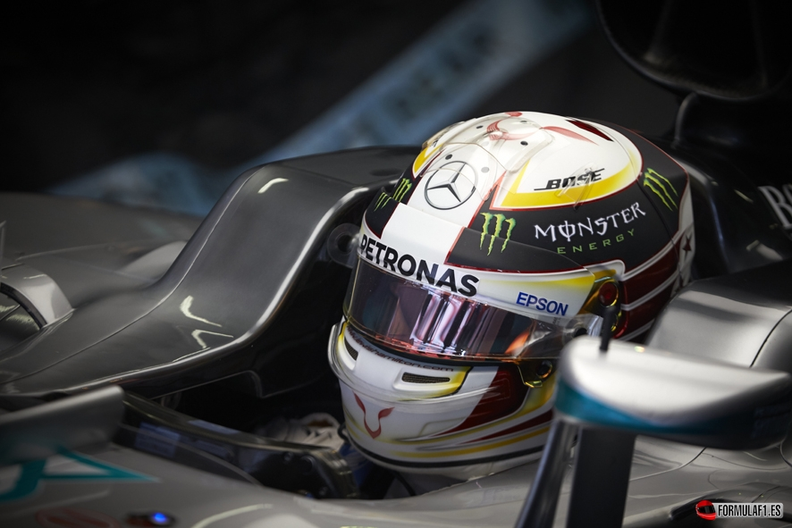 Formel 1 - MERCEDES AMG PETRONAS, Großer Preis von Russland 2016. Lewis Hamilton ; Formula One - MERCEDES AMG PETRONAS, Russian GP 2016. ...</p> <br/><center style