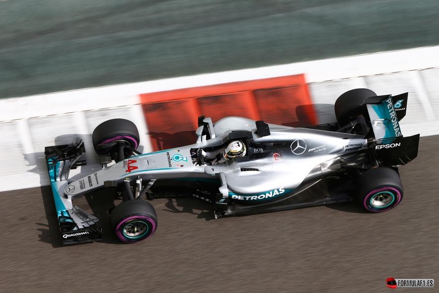 Formel 1 - MERCEDES AMG PETRONAS, Großer Preis von Abu Dhabi 2016. Lewis Hamilton ; Formula One - MERCEDES AMG PETRONAS, Abu Dhabi GP 2016. Lewis Hamilton;