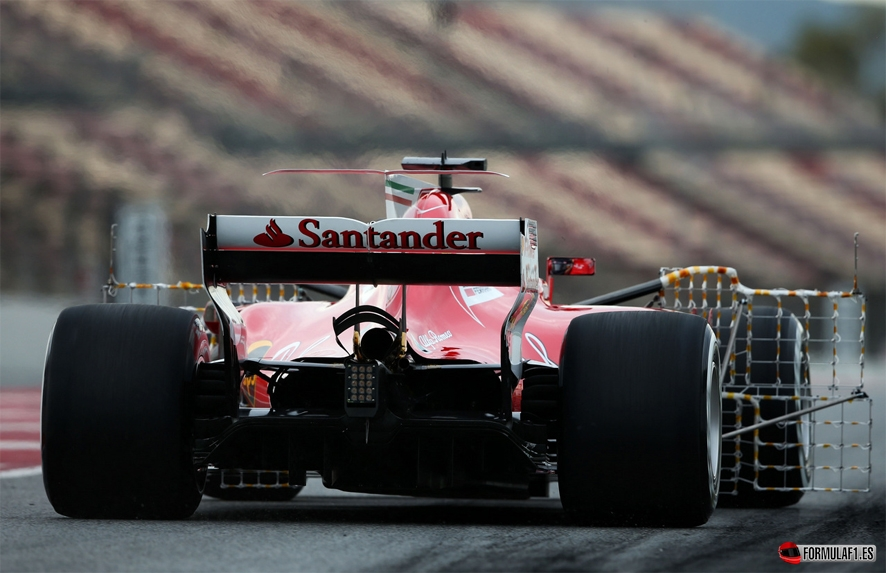 Kimi Räikkönen pone a Ferrari en cabeza tras la segunda jornada de test