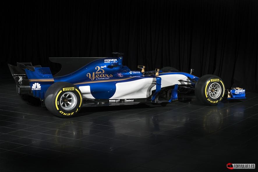 Sauber muestra el nuevo C36 celebrando sus bodas de plata