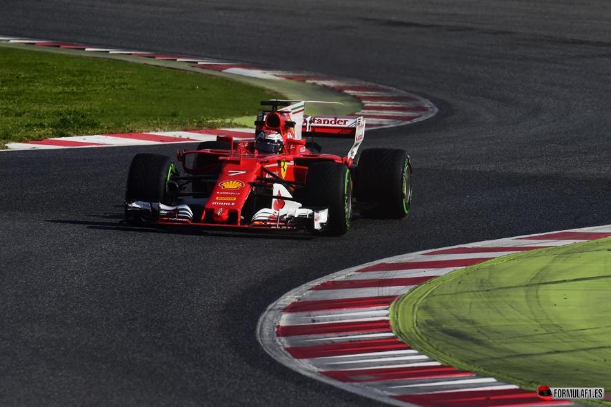 Kimi Räikkönen el más rápido con Ferrari en la última jornada de test
