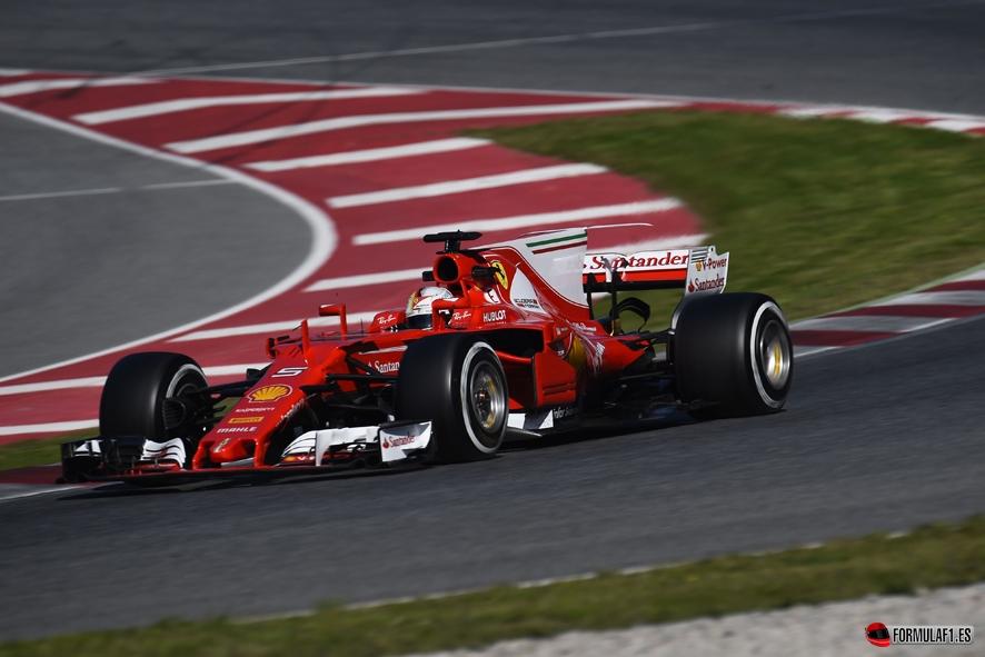 Vettel el más rápido con Ferrari en la penúltima jornada de test