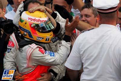 Hamilton en Mónaco
