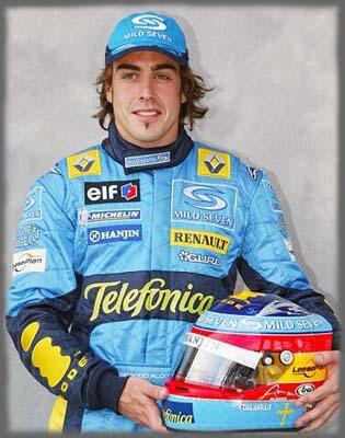 Fernando Alonso Renault - Formula 1 - Formula F1