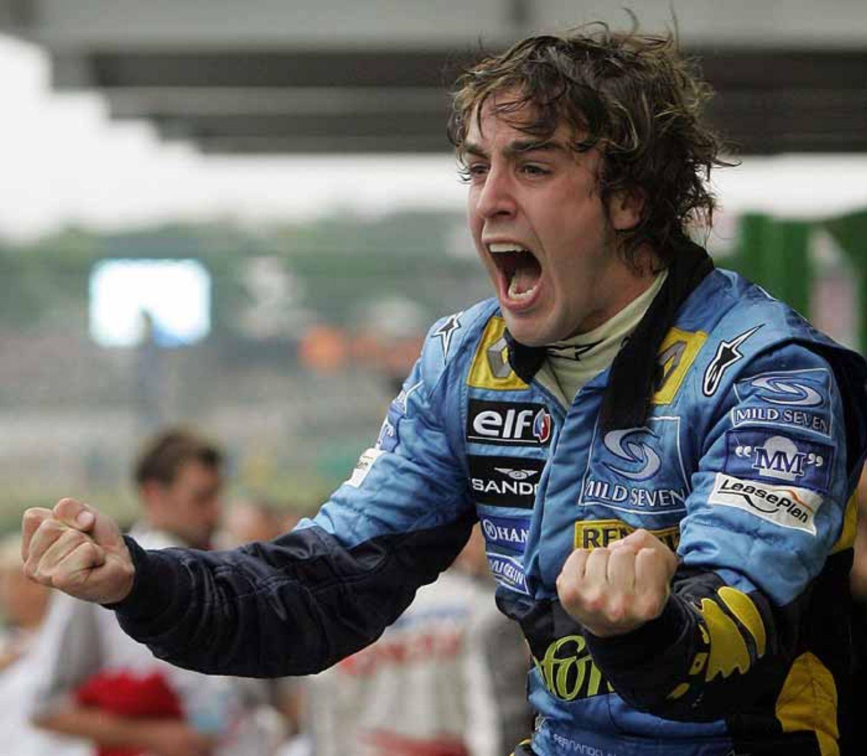 Fernando Alonso, campeón del mundo 2005