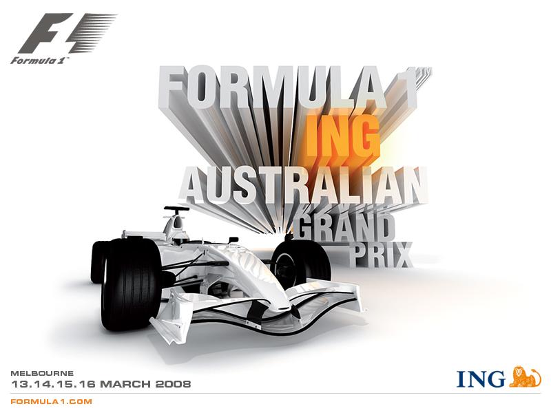 Gran Premio Australia 2008 - Formula 1 - Formula F1