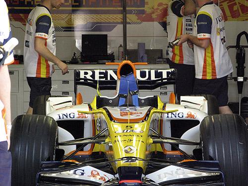 aleron W ala gaviota R28 Renault - Formula 1 - Formula F1