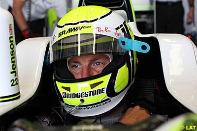 Button en el GP de España de 09