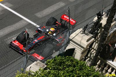 Lewis Hamilton es muy rápido en Mónaco