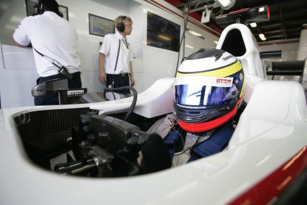 Pedro de la Rosa en su Sauber C29