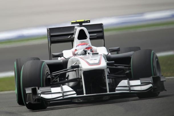 Kamui Kobayashi durante el GP de Turquía 2010