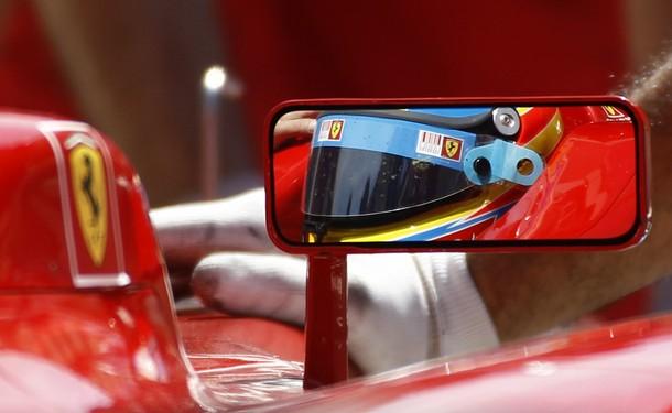 Fernando Alonso en los entrenamientos libres del GP de Turquía 2010
