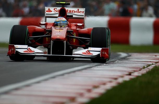 Fernando Alonso durante la calificación del GP de Canadá 2010