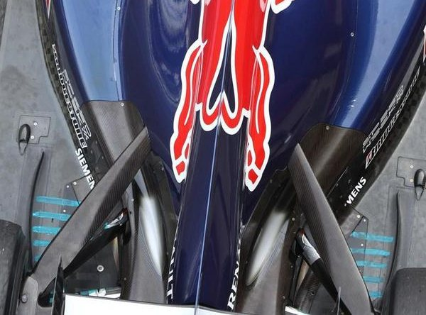 Parte trasera del Red Bull RB6