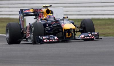 Red Bull RB6 en el GP de Alemania 2010