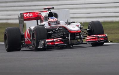 McLaren en el GP de Alemania 2010
