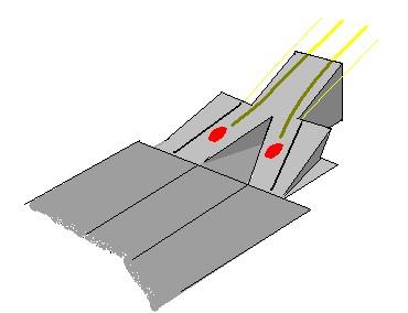 Posición de los escapes en el difusor del McLaren MP4-18