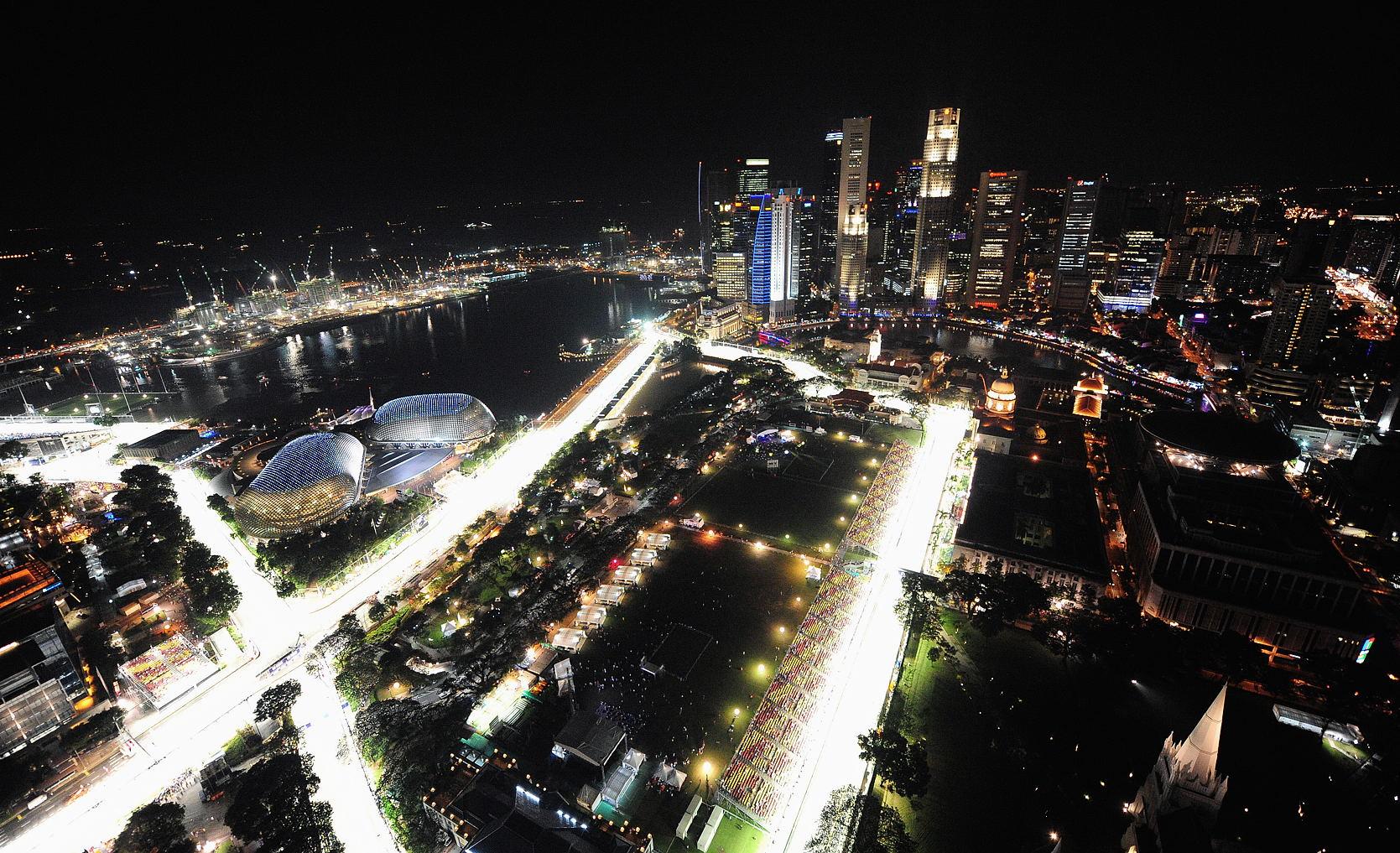 Circuito Marina Bay en Singapur