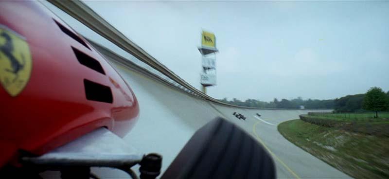Peralte del Circuito de Monza
