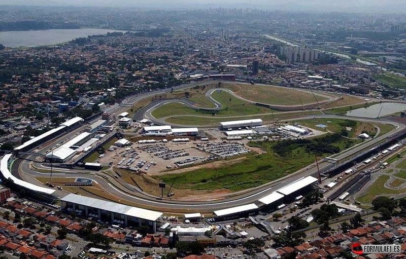 Circuito de Interlagos en Brasil