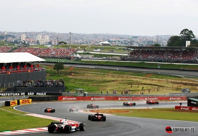 Circuito de Interlagos, Brasil