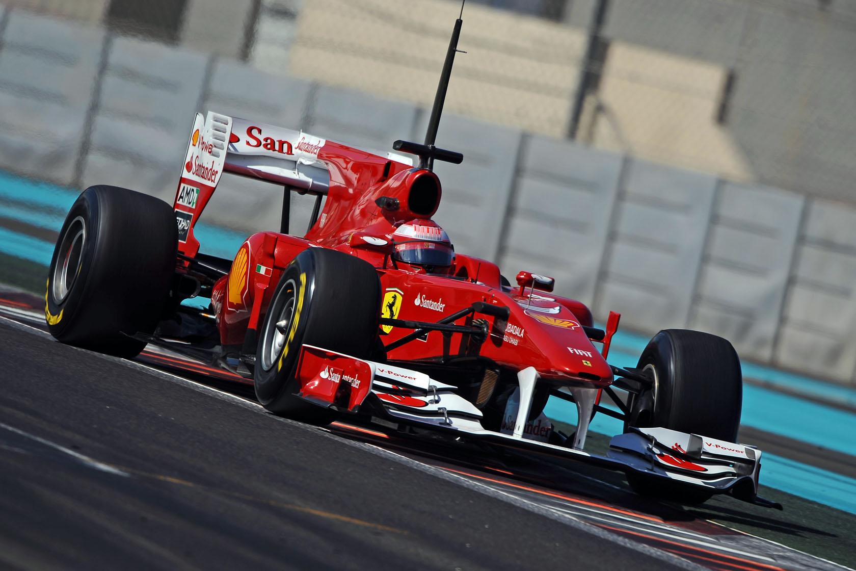 Ferrari vuelve a dominar en el último test de Pirelli