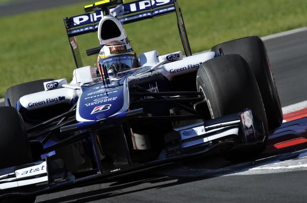 Nico Hulkenberg en Monza con su Williams