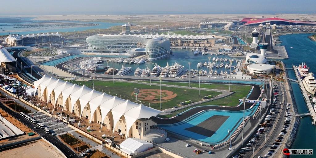 Circuito de Yas Marina en Abu Dabi