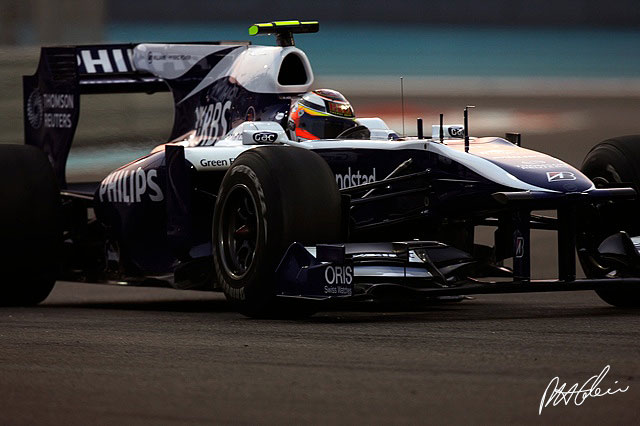Barrichello se queda en Williams, Hulkenberg sale