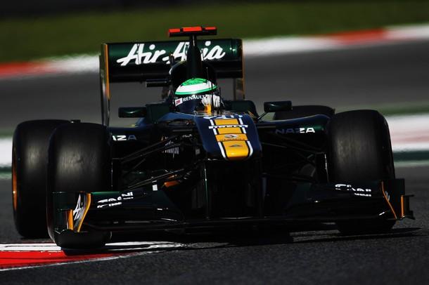 Heikki Kovalainen en la calificación del Gp de España 2011